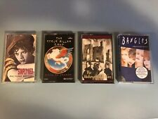 cassette tapes 80s/90s bands