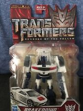 TRANSFORMERS ROTF REVENGE OF THE FALLEN BRAKEDOWN SCOUT CLASS NEW SEALED!