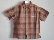 Timberland boys cotton short sleeve check shirt size 6 years 116 cm