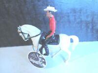 1950's CHEYENNE  Hartland 5 inch Mini Western Rider set + custom Hang Tag #2