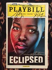 Lupita Nyong'o(Star Wars) And Cast Signed Eclipsed Playbill