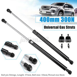 400mm 300N Lift Support Gas Struts Spring Kit With Brackets Universal Car Boat