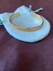 Tiffany & Co Atlas Cuff Bracelet 18ct Yellow Gold