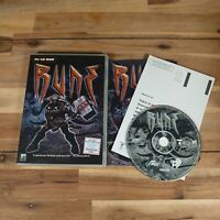 Rune (Windows PC CD-ROM, 2000) - Action/Adventure PC Game Complete
