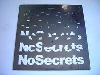 SEALED Nosecrets Self Titled 1983 LP
