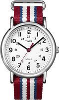 Timex Weekender Quartz Watch T2N746, Nylon strap and Indiglo Night Light