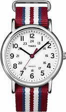 Timex Weekender Quartz Watch T2N746, Nylon strap and Indiglo Night Light