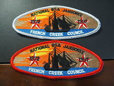 French Creek Council - 1997 National Jamboree JSP Set, Trader and Delegate Patch