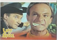 THE COMPLETE LOST IN SPACE FACES OF DOCTOR SMITH INSERT SINGLE F2