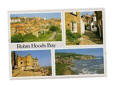 Yorkshire - Robin Hoods Bay - Multiview Postcard
