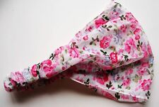UK New Women/Girl Flower Head Wrap Headband Elastic Hair Band Bandanna 3 in 1 B