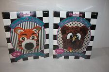 2 Wonder Art Create A Critter Tiger & Honey Bear No Knitting No Crocheting New