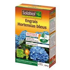 ENGRAIS HORTENSIAS BLEUS 750G jusqu'à 30 pieds SOLABIOL agriculture bio