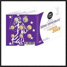 BU Frankrijk 2015   * * *   coffret BU France 2015  !!!!