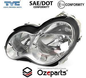 LH LHS Left Head Light Lamp For Mercedes Benz C Class W203 Sedan Wagon 04~07
