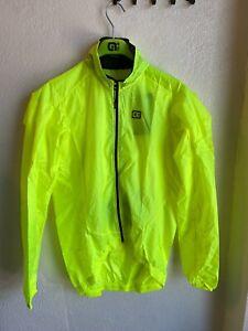 Alé Cycling Guscio Light Pack Jacket - Fluo Yellow - Men's Medium