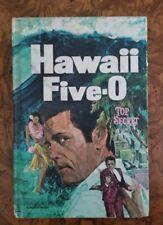 Hawaii Five-O Top Secret 1969 Novel Authorized Edition USED Manufacturer Defect