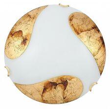 ELEGANTE PARED O Lámpara de techo en Blanco Oro Aplique lámpara de techo lámpara