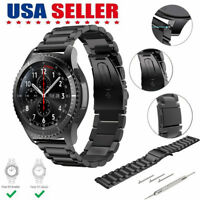 Stainless Steel Strap Watch Band For Samsung Galaxy Gear S3 Frontier/Classic
