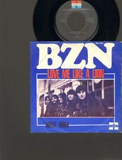 "BZN Love me Like a Lion SINGLE 7"" Walk Walk 1974 NEDERPOP Dutch Beat B.Z.N."