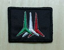 2 Patch Toppa RICAMO Aeronautica Militare - Frecce Tricolori
