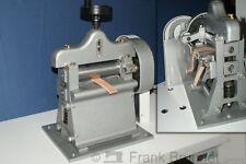 einfache Lederspaltmaschine mit Handkurbel