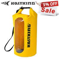 KastKing 10L Yellow Waterproof Floating Boating Kayaking Camping Dry Bag