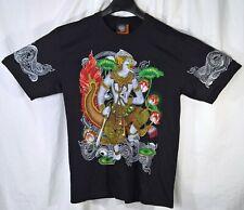 Mens T-Shirt - Thai Buddhist, Royal Boat, Ramayana (Ramakien) and Muay Thai