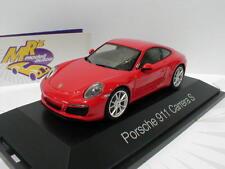 """Herpa 070966 - Porsche 911 (991) Carrera 4 CoupeBj. 2017 """" indischrot """" 1:43 NEU"""