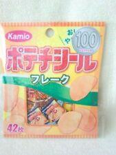 kamio Food snacks  42 pcs NEW  flake seal sticker pack -683