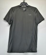 Mountain Hardwear Mens Gray Small Workout Shirt (F3)