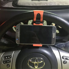 Car Interior Accessories Steering Wheel Clip Phone Holder For Mobile Phone GPS