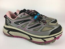 Hoka One One Womens Mafate Speed Athletic Trail Running Shoes Size 10.5 Purple