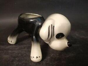 Vintage Mid-Century Puppy Dog Planter