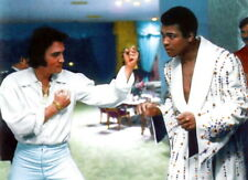 Photo de Elvis Presley et de Mohamed Ali/Cassius Clay