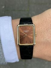Patek Philippe Unisex Size Manual Winding Yellow Gold Very Rar Brown Dial