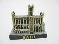 Bath Abbey,5 cm Poly Fertig Modell,England GB Souvenir,NEU