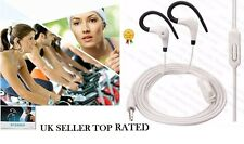 OVER EAR CLIP HEADPHONE HOOK SPORTS GYM JOGGING RUNNING EARPHONES WITH MIC C