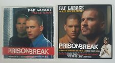 LOT DE 2 CD SINGLE DE FAF LA RAGE PRISON BREAK (RAP)
