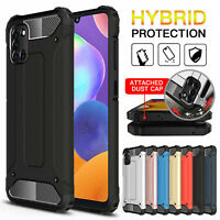 Case For Samsung Galaxy A31 Shockproof Armor Silicone Bumper Hybrid Hard Cover