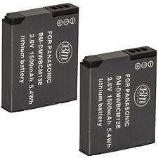 BM 2X DMW-BCM13 Batteries for Panasonic Lumix DMC-ZS40 DMC-ZS45 DMC-ZS50 Cameras