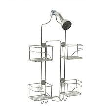 Shower Caddy Storage Stainless Steel Hanging Shelf Bathroom Organizer Chrome