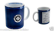 DR288 20oz Doctor Who Tardis Mug Time Machine BBC Police Call Box Coffee Tea Cup