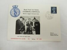 Royal Naval  Cornwall Commemorative Stamp Cover Limited Edition  STA L96