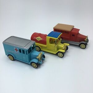 Vintage Toy Delivery Trucks Sunco New York Times American Ambulance