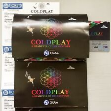 COLDPLAY Gold Manila Concert Tickets - A Head Full of Dreams Tour