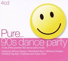 Pure... 90s Dance Party box-set 4 CD NUOVO Britney Spears/Backstreet Boys/+