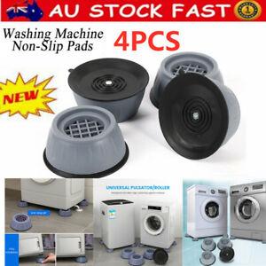 4PC Anti Vibration Feet Pads Washing Machine Fridge Shake Noise Non-Slip Pad Mat