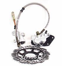 Foot Brake Cylinder Caliper Pads Disk 90cc 110cc 125cc 140cc 150cc Dirt Bike