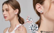 Cartilage Studs Cubic Zirconia Stud Earrings Set Hypoallergenic Plated for Girl